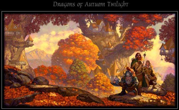 Драконы осеннего рассвета картинки